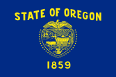 Flag of Oregon (obverse)(April 15, 1925)[5]