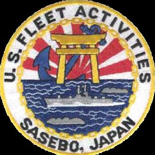 United States Fleet Activities Sasebo U.S. Naval base in Japan