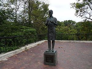 Wilmington State Parks - H. Fletcher Brown Statue
