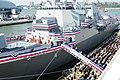 Flickr - Official U.S. Navy Imagery - Sailors run aboard USS Michael Murphy..jpg