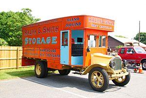 Truck - Moving van