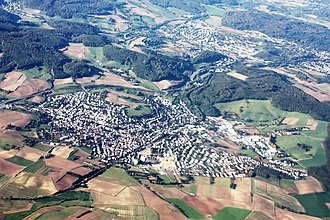 Ober-Ramstadt - Aerial view
