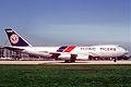 Flying Tigers Boeing 747-245F; N814FT, January 1987 AKN (6084156250).jpg