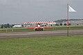 Fokker DVII Ernst Udet Taxi out Dawn Patrol NMUSAF 26Sept09 (14599279352).jpg