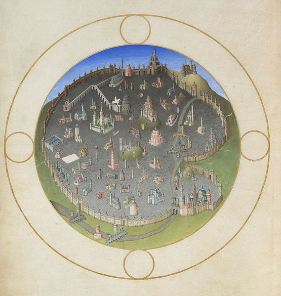 Archivo:Folio 141v - A Plan of Rome.jpg