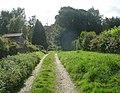 Footpath - Long Lee Lane - geograph.org.uk - 977195.jpg