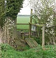Footpath bridge south of Woodbine Farm - geograph.org.uk - 1256959.jpg