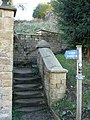 Footpath in Edensor - geograph.org.uk - 298213.jpg
