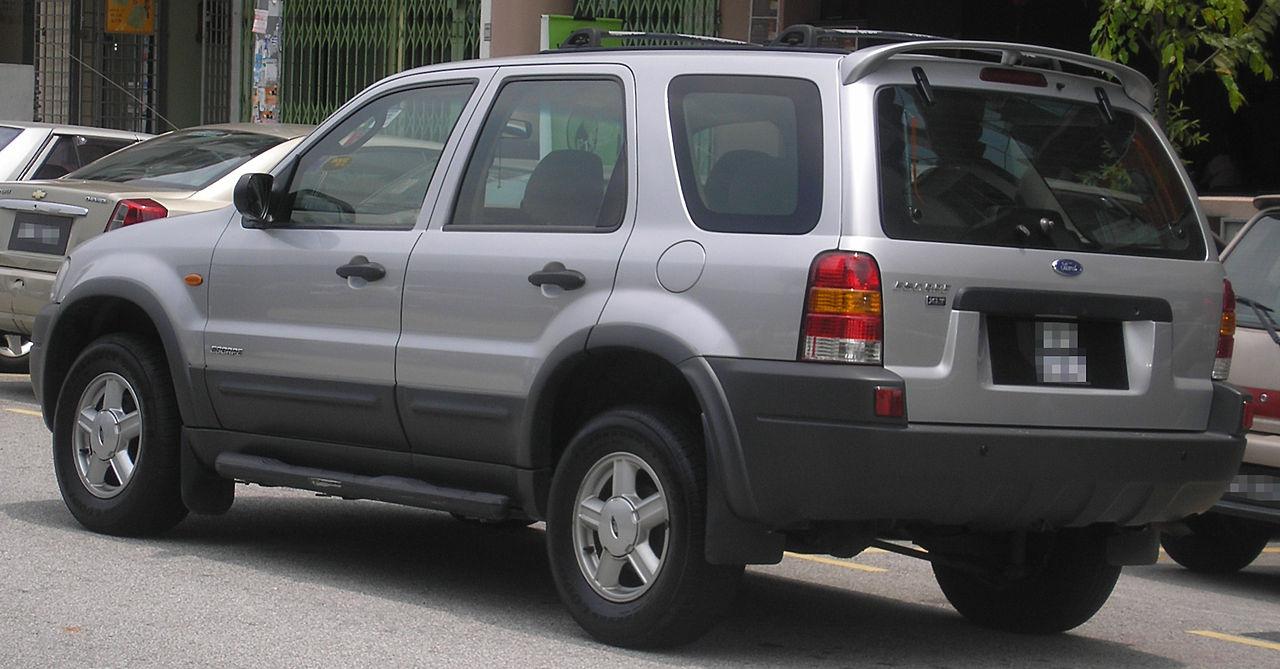 File Ford Escape First Generation Rear Serdang Jpg