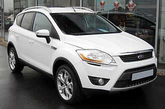 Ford Kinetic Design - Image: Ford Kuga front 20081206