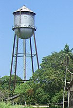 Fordlandia water tower.JPG