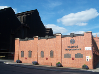 Sheffield Forgemasters - Gate 1 at Forgemasters
