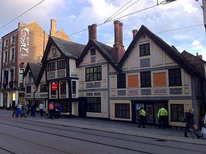 Flying Horse Inn - Image: Former Flying Horse Public House, Nottingham