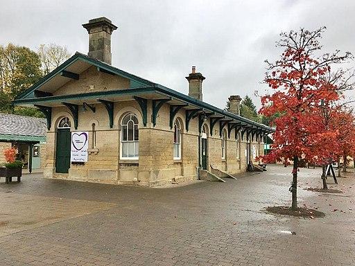 Former Rowsley Railway Station (geograph 5945788)