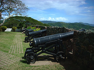Fort George, Jamaica - Cannons at Fort George