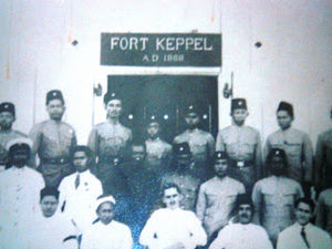 Bintulu - Fort Keppel in 1868