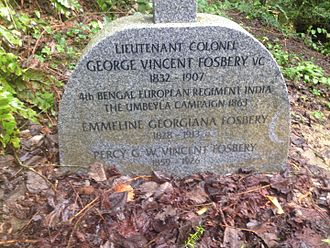 George Fosbery - Recent (March 2016) photo of Fosbery's grave