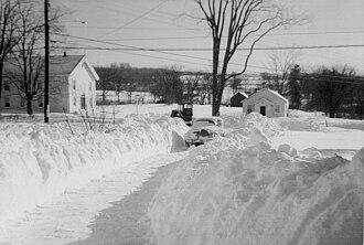 Newburgh, New York (town) - Fostertown Methodist Church in 1959