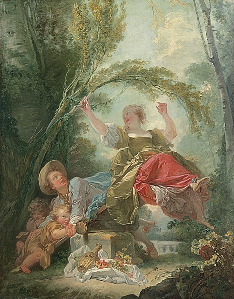 ファイル:Fragonard, The See-Sa...
