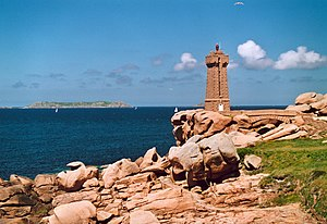Ploumanac'h lighthouse - The lighthouse on the Côte de Granit Rose