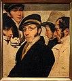 Francesco hayez, autoritratto in un gruppo di amici, 1824 ca. 02.JPG