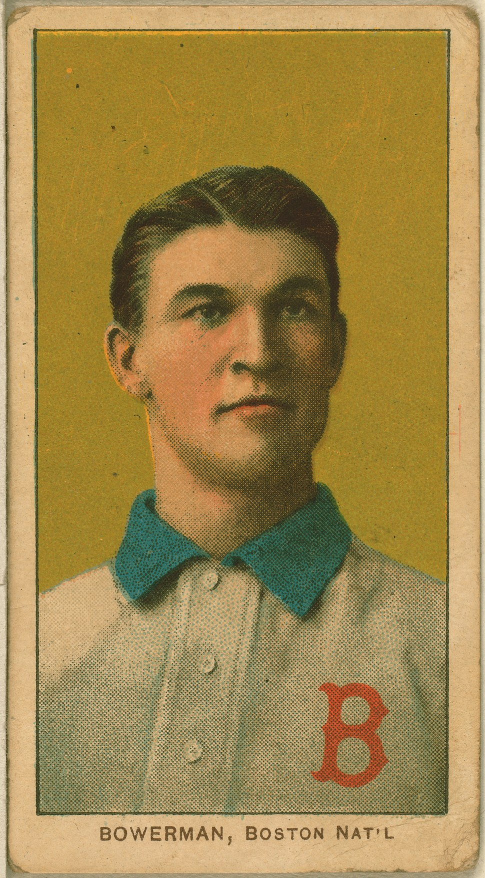 Frank Bowerman, Boston Doves, ca. 1910