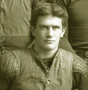 "Michigan–Notre Dame football rivalry - Former Michigan player Frank Longman led a band of ""fighting Irishmen"" to victory over the Wolverines in 1909."
