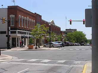 Valparaiso Downtown Commercial District - Franklin east of Courthouse