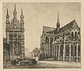 Frans Nackaerts - Groote markt, Leuven - Graphic work - Royal Library of Belgium - S.IV 94686.jpg