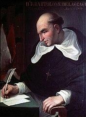 Retrato de Bartolomé de las Casas.