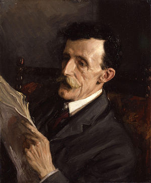 Frederic William Maitland - Portrait of Frederic William Maitland by Beatrice Lock, 1906