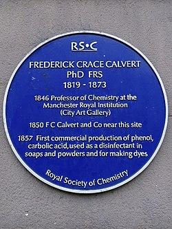 Frederick crace calvert phd frs 1819 1873