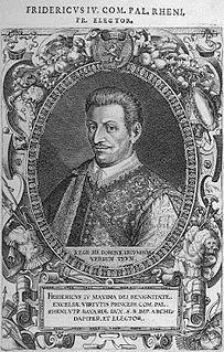 Frederick IV, Elector Palatine Elector Palatine