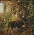 Friedrich Voltz Der wildgewordene Stier.jpg