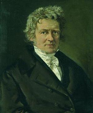 Friedrich Bessel - C. A. Jensen, Friedrich Wilhelm Bessel, 1839 (Ny Carlsberg Glyptotek)