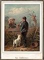 Friedrich Wilhelm Heinrich Theodor Hosemann (1807-1875), Farblithographie, Das Stelldichein, D2234.jpg