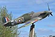 Full Size Mock-up Hawker Hurricane IIB 'BD734 FN-D' (49219290278).jpg