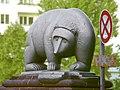 Günter Anlauf, Moabiter Brücke, Vier Bären.jpg