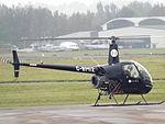 G-BMIZ Robinson 22 Helicopter (29802145426).jpg