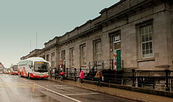 GALWAY RAILWAY AND BUS STATION IRELAND JULY 2013 (9197629895).jpg