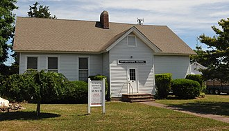 Little Egg Harbor Township, New Jersey - The Giffordtown Schoolhouse, which operated until 1951, now part of the Tuckerton Historical Society