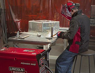 Gas metal arc welding - GMAW on stainless steel