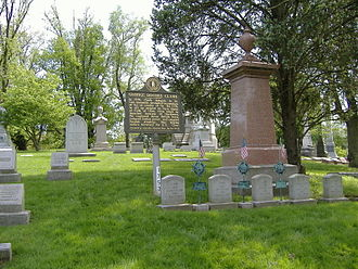 Cave Hill Cemetery - George Rogers Clark gravesite