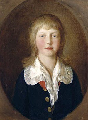 Ernest Augustus, King of Hanover - The young Ernest Augustus by Thomas Gainsborough, 1782