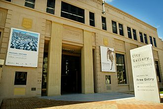 City Gallery Wellington - The main entrance to the Gallery
