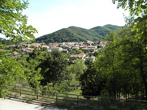 Galzignano Terme - Image: Galzignano Terme, panorama dall'alto
