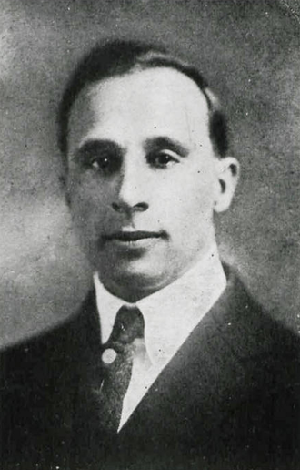 Garland Nevitt - Nevitt pictured in Chippewa 1920, Central Michigan yearbook