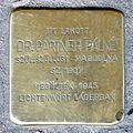Gartner Pálné stolperstein (Budapest-13 Hollán Ernő u 9).jpg
