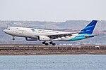 Garuda Airbus A330 landing at DPS.jpg