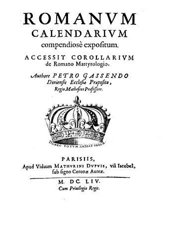 Romanum calendarium